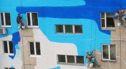 Покраска фасадов в Москве
