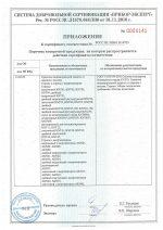 Добровольный сертификат соответствия, о применении в потенциально взрывоопасных средах Стропов 1